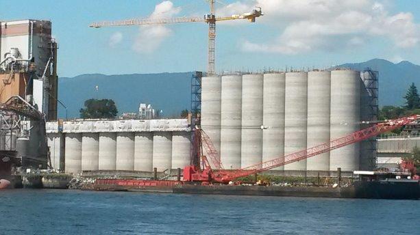 Silo project requires continuous concrete pour