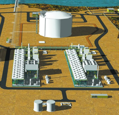 Mothballed LNG project revived