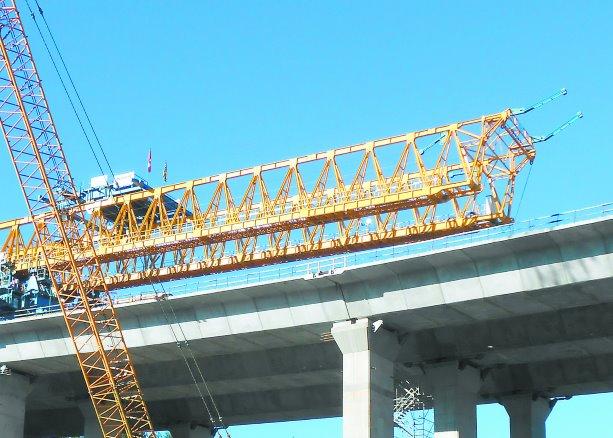 Custom crane fulfilled its duty for new bridge