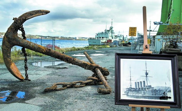 Anchored to history: Halifax demo uncovers maritime artifact