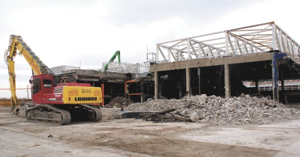Overthrowing the Guvernment: Toronto venue demolished