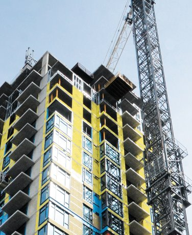PHOTO: New residential tower in Calgary