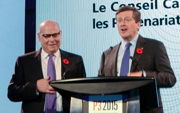 Tory states P3s are in play for Toronto