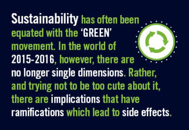Sustainability: A Most Unlikely Rallying Cry with Seven Billion Adherent