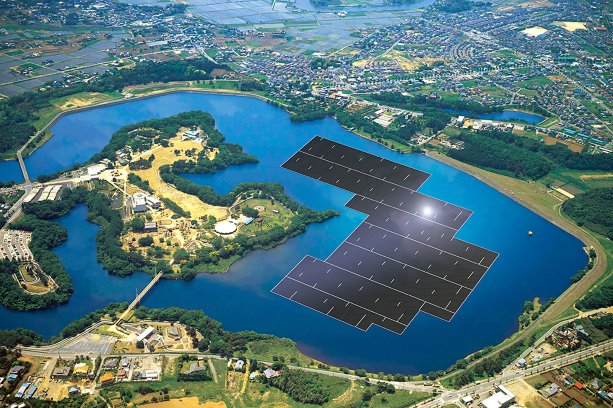 Massive Japanese floating solar project launched