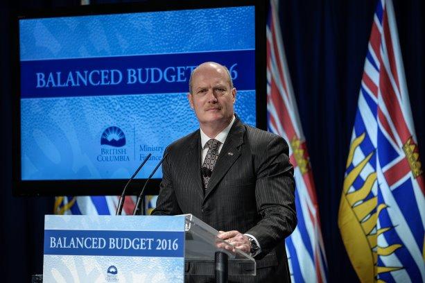 B.C. budgets $12 billion for infrastructure
