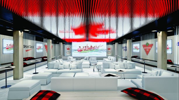 Canadian Olympic House: Canadiana on a tight budget