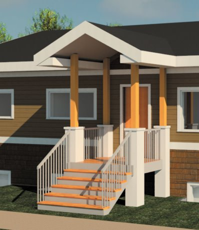 Shipping containers repurposed for First Nations home
