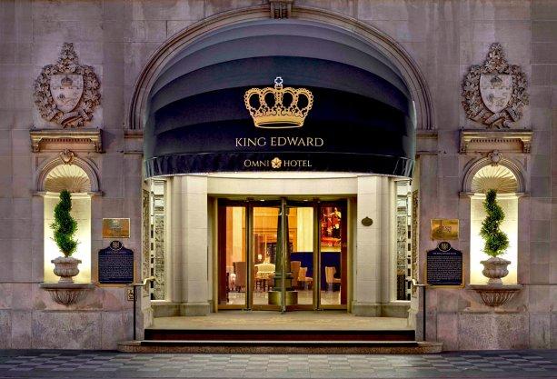 King Edward Hotel exterior masonry wraps up