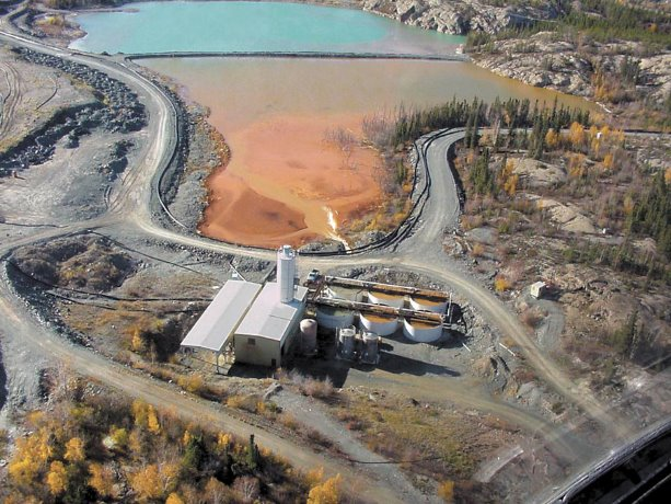 Giant Mine leaves giant environmental footprint