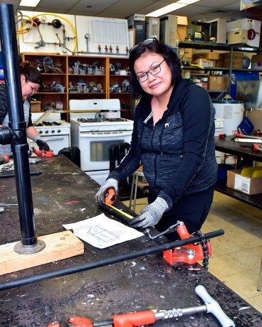 Canadore trades program builds up aboriginal women