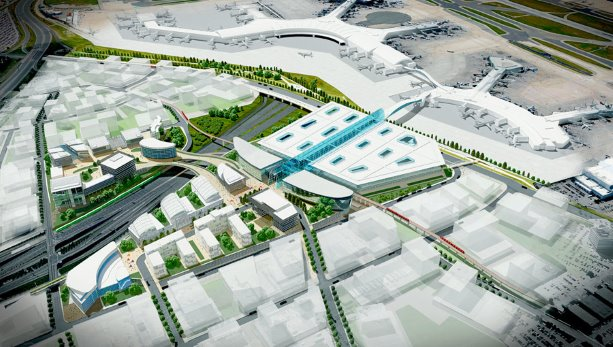 GTAA unveils plans for Pearson transit centre