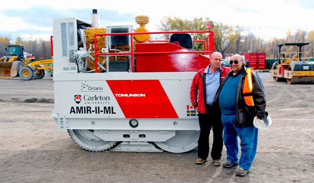 AMIR compactor to disrupt asphalt paving by keeping roads grounded