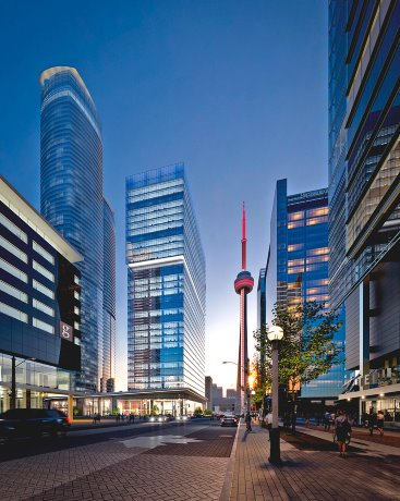 Cadillac Fairview unveils $479-million Toronto office tower