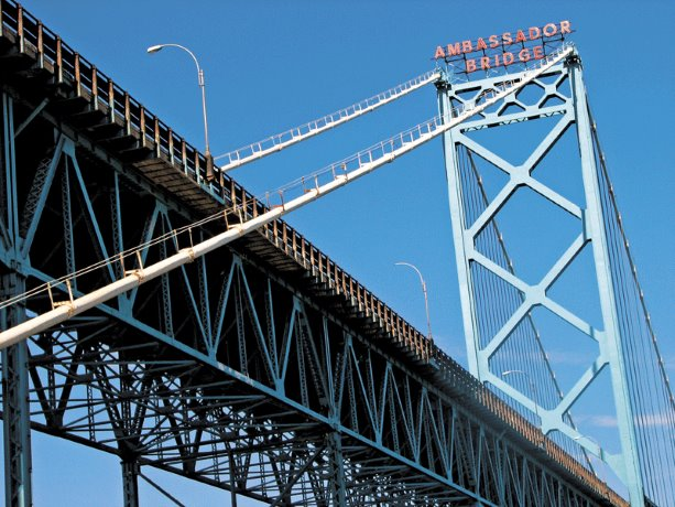 Ambassador Bridge transformed Canada-U.S. trade