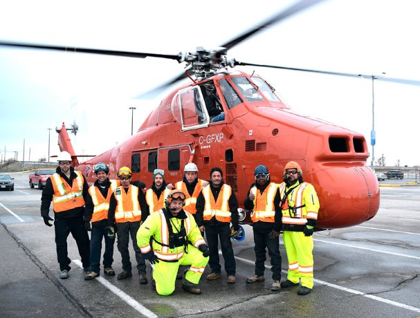 Sikorsky makes quick work of HVAC lift