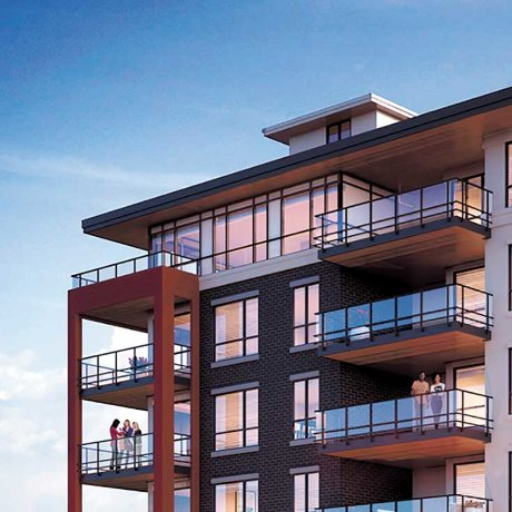 Historic CLT condo project being built near UBC