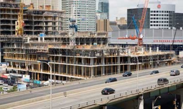 PCL relies on teamwork to get the job done at Maple Leaf Square project