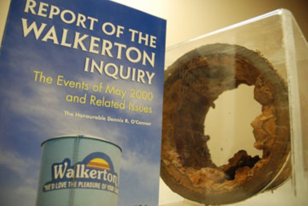 walkerton water tragedy In may 2000 in the community of walkerton, ontario, seven people died and over 2,000 others became ill from the vicious and often permanent effects of e coli poisoning the source of the contamination was the town's water supply, and was the result of mismanagement, unaccountability, and.