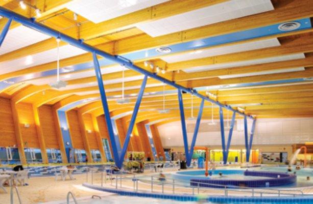 Vancouver aquatic centre earns British Columbia Wood Design Award