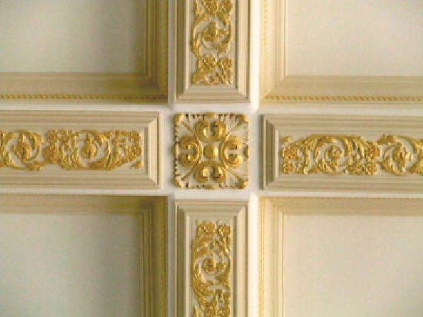 Ceilings a canvas for lost art of decorative painting ...