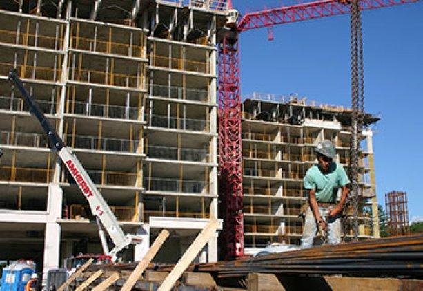 Construction progresses on Royal Gardens in Richmond Hill, Ontario
