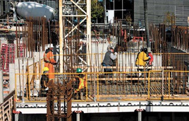 PHOTO: TMG Builders continues construction on Emerald Park condos in Toronto