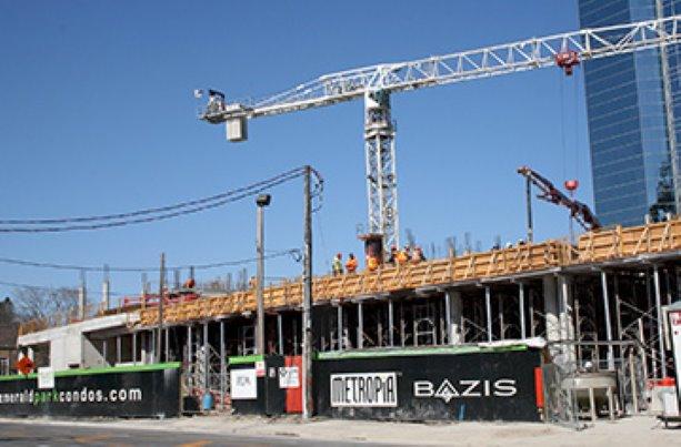 TMG Builders continues construction on Emerald Park condos in Toronto