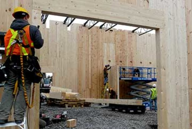 Cross-laminated timber first in Ottawa