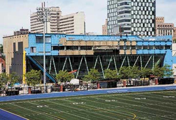 Goldring Centre Facade constructconnect