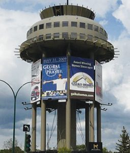 Lethbridge, Alberta builder converts water tower into restaurant