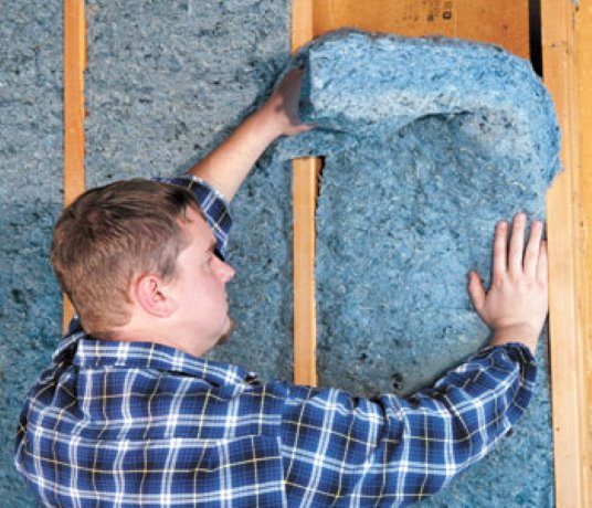 Recycled denim reborn as sustainable insulation