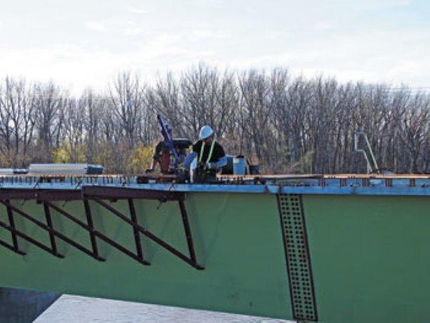 Winnipeg Bridge Construction