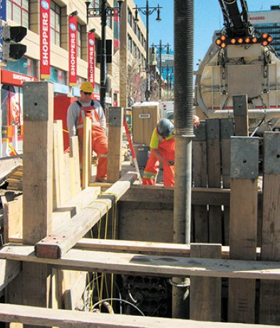 Manitoba Hydro overhauls antique manholes in Winnipeg