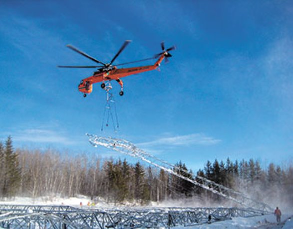 Contractor selected for major Alberta transmission project