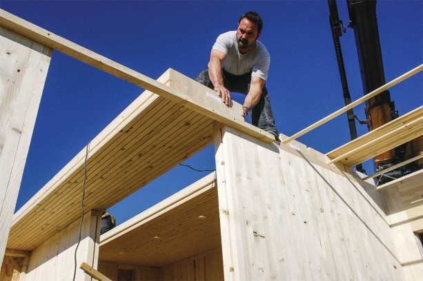 New Dowel Laminated Timber Product To Be Used For
