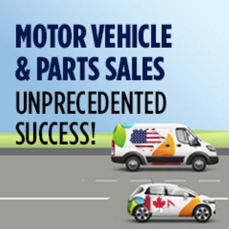 Infographic: U.S. and Canadian Motor Vehicle and Parts Sales - Unprecedented Success