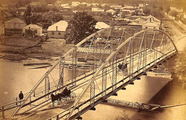A tale of two bridges, preserved in very different ways