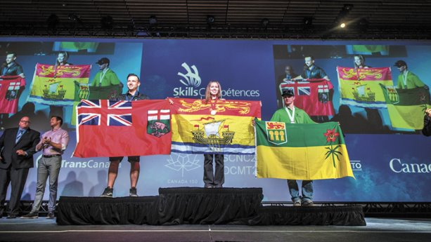 Apprentices strut their stuff at skills nationals