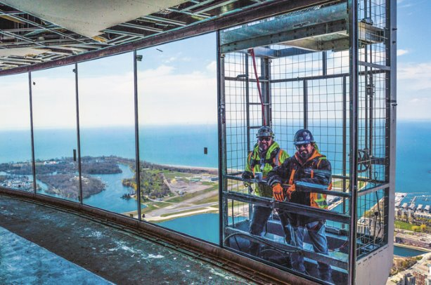 Window project takes CN Tower view to new heights