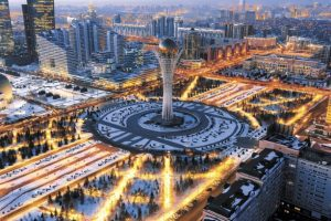 Myth and architecture in the futuristic city of Astana