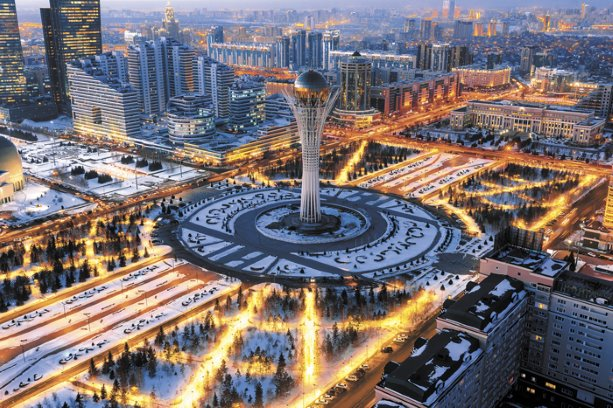 Myth and architecture in the futuristic city of Astana ...