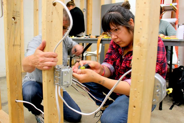 College program paving the way for aboriginal women in the trades