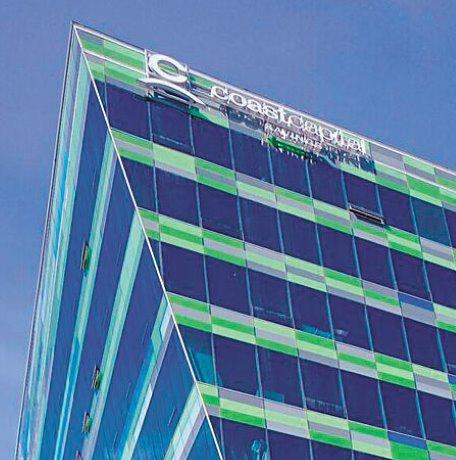 Coast Capital Savings building an award winning intricate build