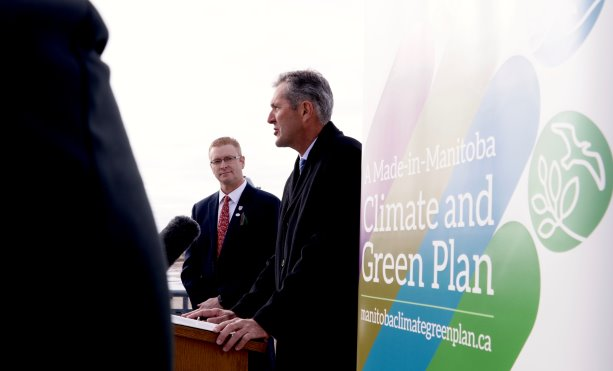 Manitoba rolling out a new plan to tackle climate change