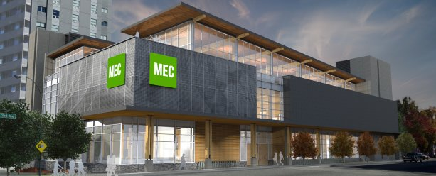 MEC breaks ground on Vancouver flagship store