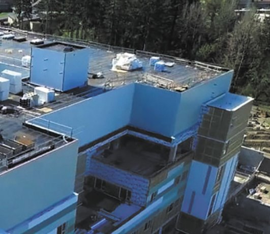 Two contractors win VRCA awards for North Island Hospital Comox Valley project