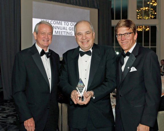 Atkinson, Moore honoured by OGCA