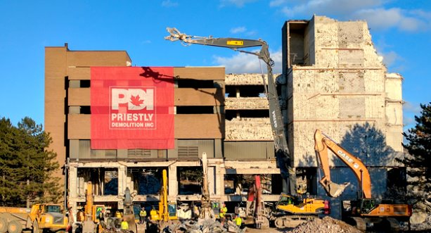 Priestly Demolition cleans up at London, England awards