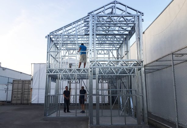 New Zealand steel frame technology makes a splash in Vancouver